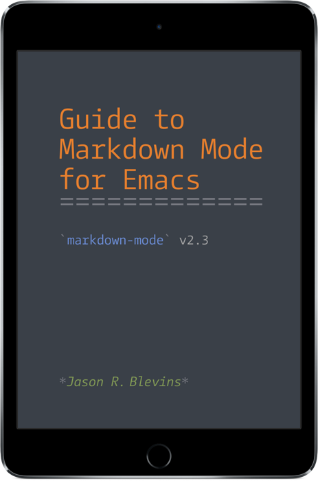Markdown Mode for Emacs
